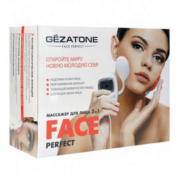 Миостимулятор для безоперационного лифтинга лица Perfect Face Gezatone
